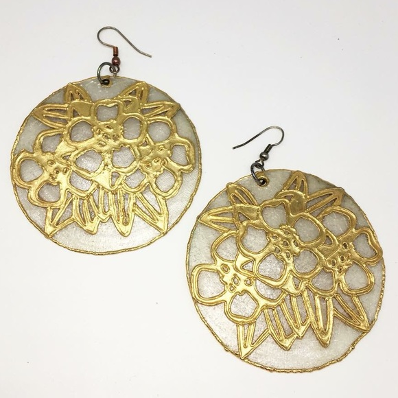 Yendi Jewelry - Custom gold-dipped earrings by Yendi.